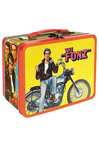 Happy Days The Fonz Tin Tote Lunch Box