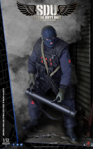 Pre-Order - Hong Kong Police Force Special Duty Unit Assault Team 1/12 Scale Figure