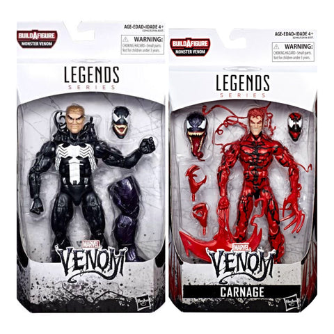 Marvel Legends Series 2 pack -Venom Carnage 6-inch Figure