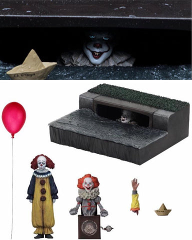 In Stock! Neca IT 2017 Pennywise Accessory Set