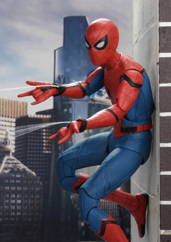 NECA 1/4 Scale Spider-Man - Spiderman Homecoming Figure NEW