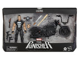 Marvel Legends Punisher and Motorcycle