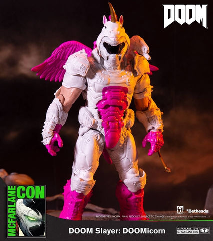 Shipping next week - McFarlane Toys Doom Slayer: DOOMicorn Action Figure