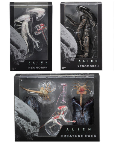 NECA Alien Covenant 3-Figure Set