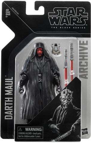 "In Stock! Star Wars Black Series Darth Maul 6"" Archive Figure"