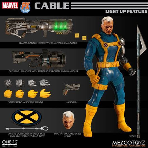 Mezco One:12 PX Exclusive Cable with light up features