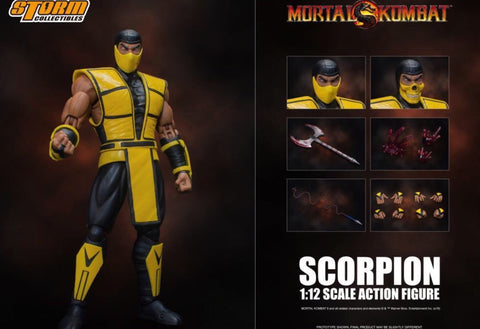 Storm Collectibles Mortal Kombat Scorpion Figure