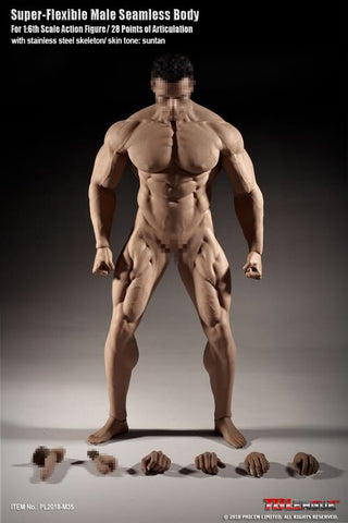 "Phicen 1/6 scale Seamless Male Body (Mr Big) 12"" body"