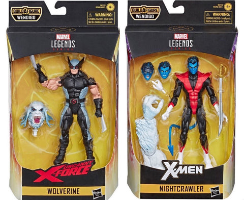 Marvel Legends X-Force Wolverine & Nightcrawler 2-Pack