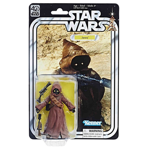In Stock! Star Wars Black Series 40th Jawa 6-Inch Figure