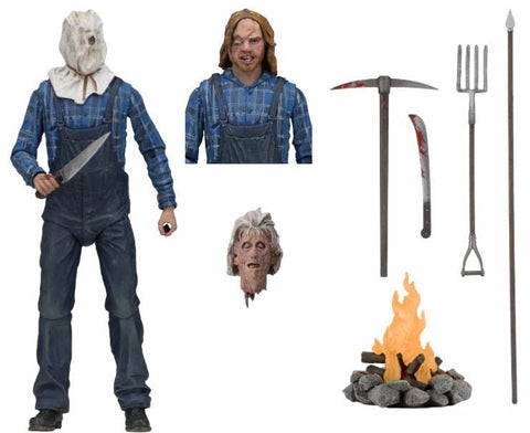 "Friday the 13th Ultimate Part 2 Jason 7"" figure"