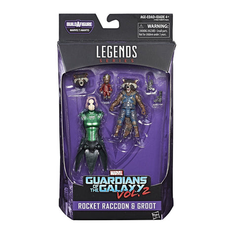 Marvel Legends Guardians 2017 Rocket Racoon Figure