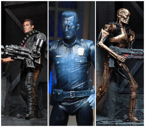 NECA Terminator 2 Kenner Tribute (set of 3)