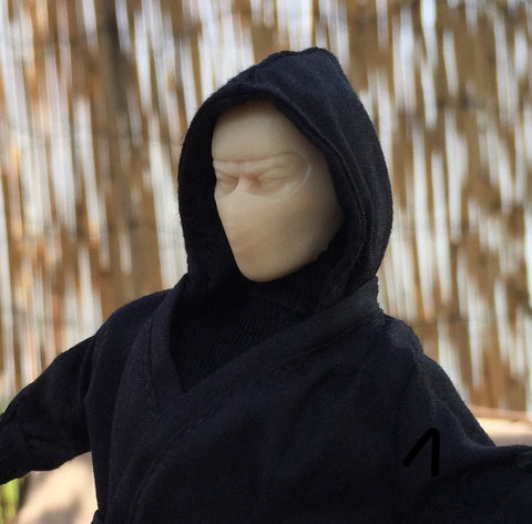 1/12 Unpainted Head - Ninja (For Mezco Ninja Bodies)