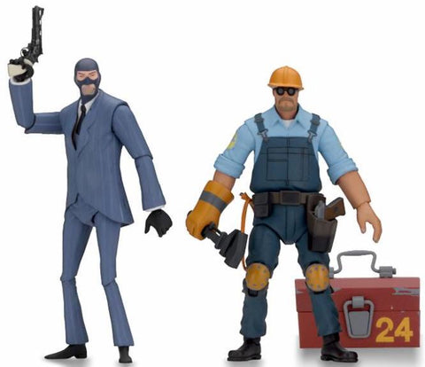 "Pre-Order - Team Fortress Series 3.5 (2 Pack) 7"" action figures"