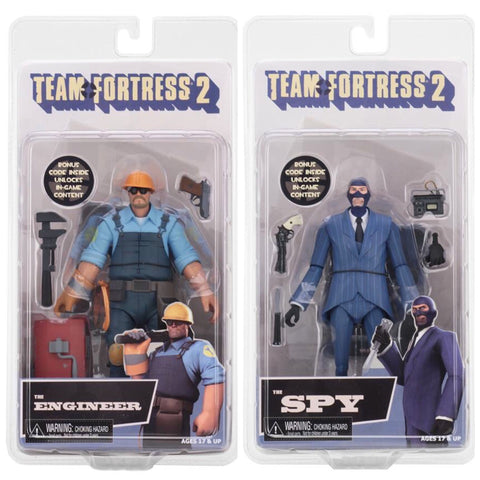 "In Stock end of July! Team Fortress Series 3.5 (2 Pack) 7"" action figures"