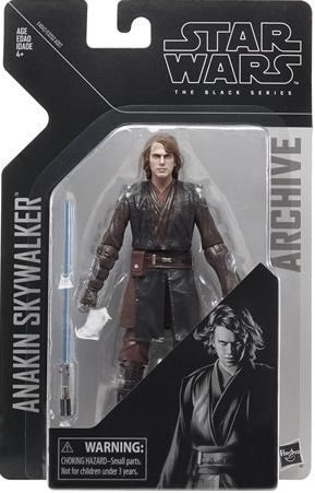 "Sloppy Paint Sale - Star Wars Black Series Anakin Skywalker 6"" Archive Figure"