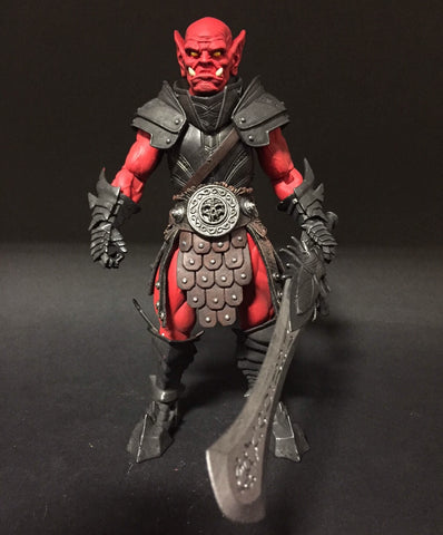 Mythic Legions Red Fury Clan Orc