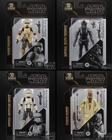 Pre-Order - Star Wars Black Series Archive Wave 4 (4 Figure Set)