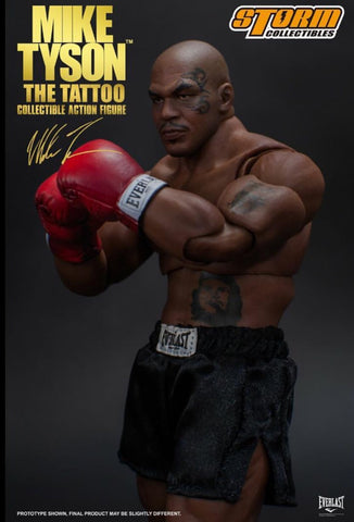 Pre-Order - Mike Tyson Tattoo Action Figure ( Storm Collectables )