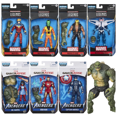 Pre-Order - Marvel Legends Avengers 7 Figure Set (Abomination BAF wave)