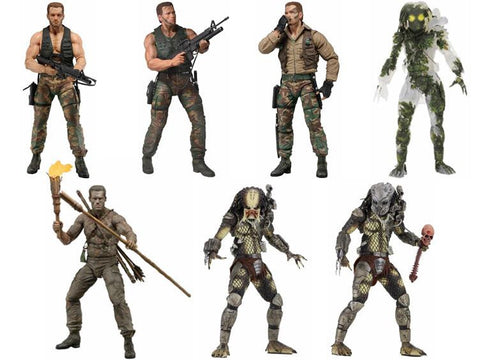 Predator 30th Anniversary (7 figure Set) FREE USA SHIPPING!