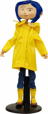 Coraline Bendy Fashion Doll with Rain Coat