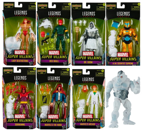 Pre-Order - Marvel Legends Villains Wave (7 Figure Set)