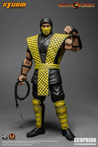 Storm Collectables - Scorpion - Mortal Kombat Figure