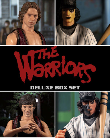 Mezco One:12 The Warriors 4-Figure Set (FREE SHIPPING)