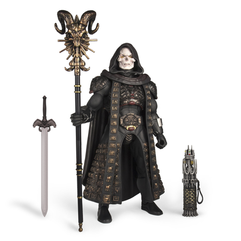 Pre-Order - (full payment) Super 7 Skeletor (Black costume)