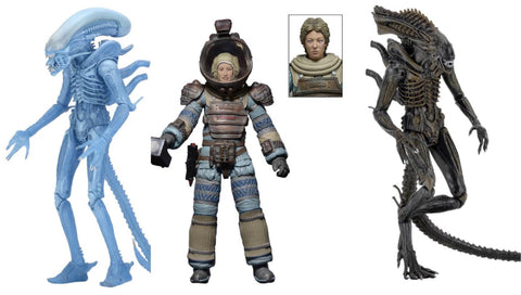 NEW! NECA Alien Series 11 (3-Figure Set)