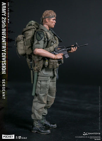 Pre-Order - Damtoys PES005 1/12 25th Infantry Division Private SERGEANT  6-Inch Figure