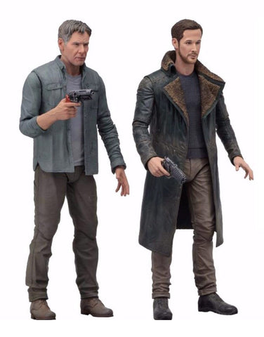 IN STOCK! NECA Bladerunner 2049 - Deckard & Officer K (2-Figure Set)