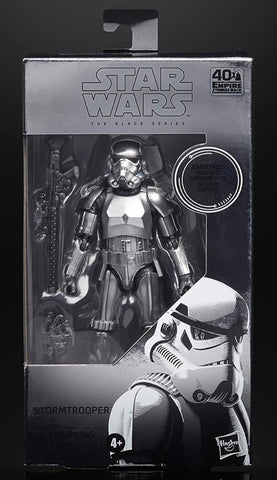 "Star Wars Black Series Carbonized Stormtrooper 6"" Figure"
