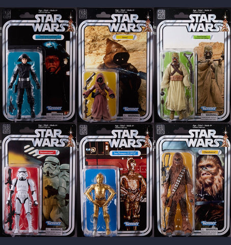 In Stock! - Black Series 40th Wave 2 (6 Figure Set)
