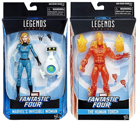 Marvel Legends - Invisible Woman/Human Torch (2 Figure Set)