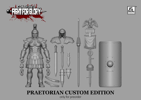 Pre-Order - Grey Praetorian Guard Custom Edition - XesRay Studio Combatants Fight for Glory