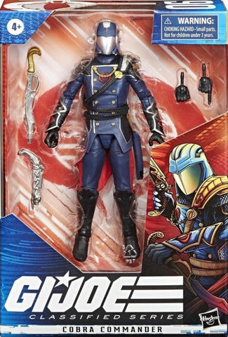 Pre-Order - G.I. Joe Classified Series 6-Inch Cobra Commander
