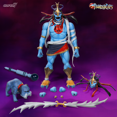 Pre-Order - Super7 ThunderCats Ultimates Mumm-Ra the Ever-Living & Ma-Mutt 2-Pack