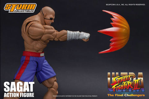 Pre- Order - Storm Collectibles Sagat Figure