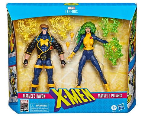 Pre-Order - Marvel Legends 90s Havok and Polaris 2 Pack