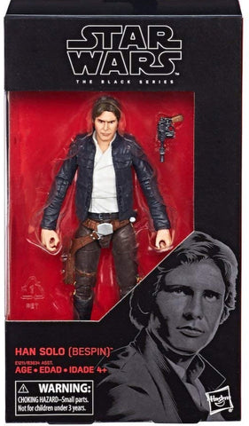 Dented Box Sale - Black Series Han Solo (Bespin) 6-Inch Figure