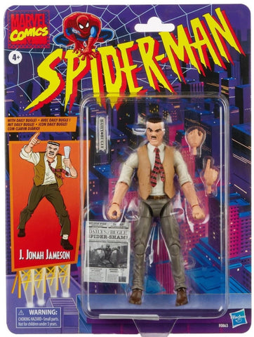 Marvel Legends JJ Jameson 6-Inch figure