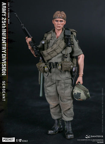 Damtoys PES005 1/12 25th Infantry Division Private SERGEANT 6-Inch Figure