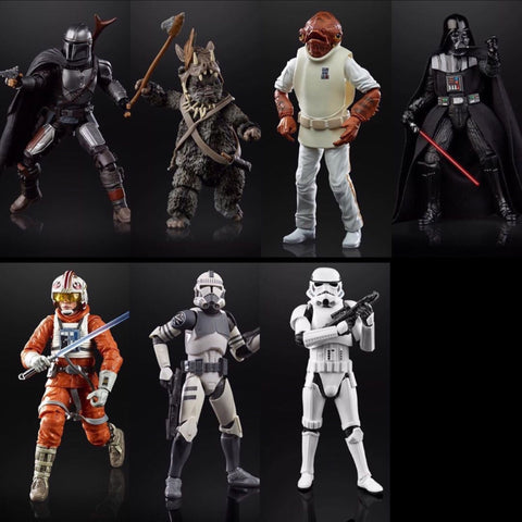 Star Wars Black Series 2020 Wave 1 (7 Figure Set)