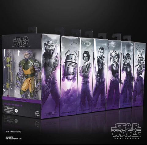 Pre-Order - Star Wars Black Series Rebels (7 Figure Set)