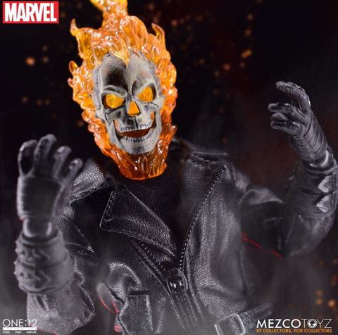 Pre-Order - Mezco One:12 Ghostrider Bike Set