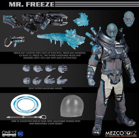 Pre-Order - Mezco One:12 Collective Deluxe Mister Freeze