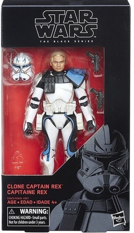 In Stock! Black Series Captain Rex 6-Inch Figure